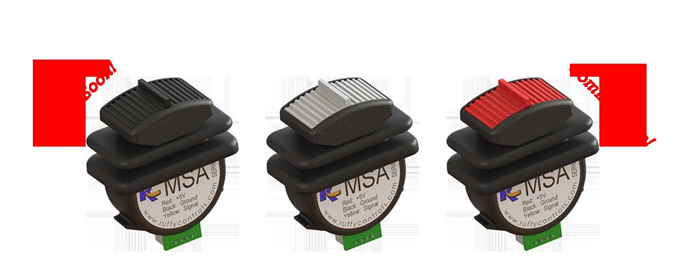 MSA Banner – Plastic Actuator Options