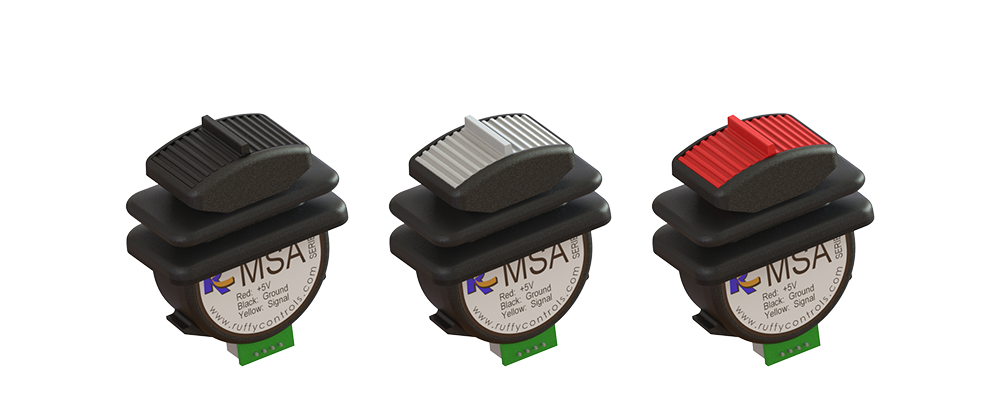 MSA Banner – Plastic Actuator Options