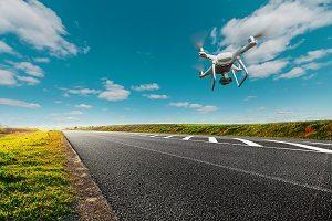 drone road surveillance